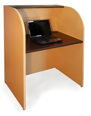 "Picture of 24"" x 36"" Telemarketing Training Study Carrel"