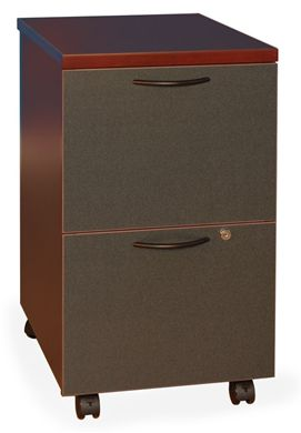 Picture of 2 Drawer Mobile Filing Pedestal, Laminate