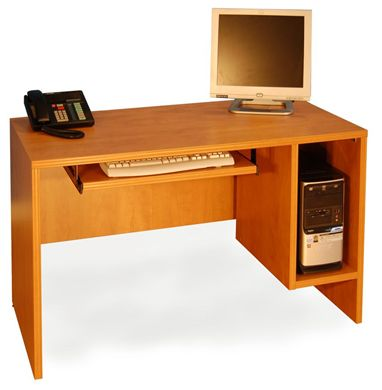 """Picture of 30"""" x 36"""" Computer Desk with CPU Holder"""