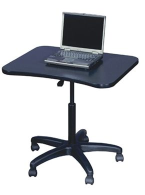 "Picture of 24"" x 36"" Mobile Laptop Computer Table"