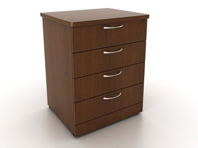 Picture of 100 + Series 4 Drawer Healthcare Dresser Storage