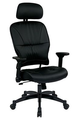 Picture of Eco Leather Seat and Back Managers Chair with Headrest