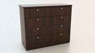 Picture of 100 + Series Healthcare 8 Drawer Dresser Storage Cabinet