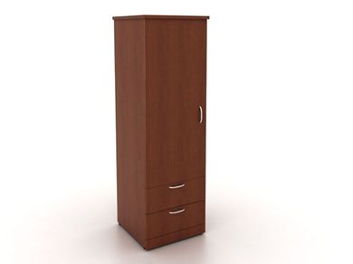 Picture of 100 + Series Healthcare Single Door Wardrobe  with Drawer Storage