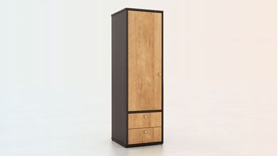 Picture of 200 + Series Healthcare Single Door Wardrobe  with Drawer Storage