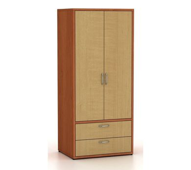 Picture of 200 + Series Healthcare 2 Door Wardrobe with Drawer Storage Cabinet