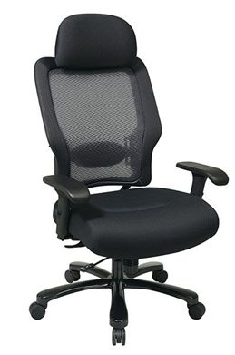 Picture of Dark Air Grid® Back and Mesh Seat Big and Tall Chair
