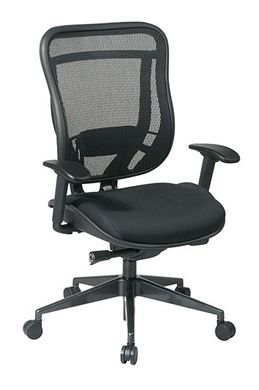 Picture of Executive High Back Chair with Breathable Mesh Back and Black Mesh Seat