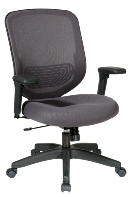 Picture of Charcoal Mesh Seat and Back Chair