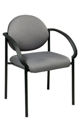 Picture of Fabric Stack Chair with Arms