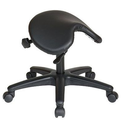 Picture of Backless Stool with Saddle Seat