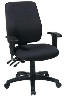 Picture of High Back Dual Function Ergonomic Chair with 2 Way Adjustable Arms