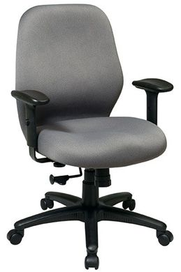 Picture of 2-to-1 Synchro Tilt Managers Chair with Adjustable PU Padded Arms