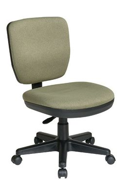 Picture of Contemporary Task Chair with Lumbar Support