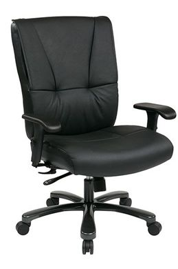 Picture of Big and Tall Deluxe Executive Leather Chair