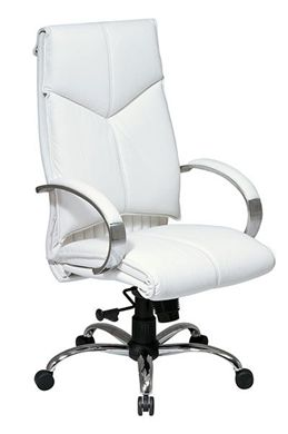 Picture of Deluxe High-Back Executive Leather Chair