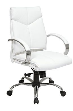 Picture of Deluxe Mid-Back Executive Leather Chair