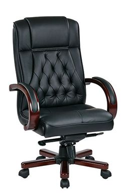Picture of Traditional High back Executive Office Leather Conference Chair