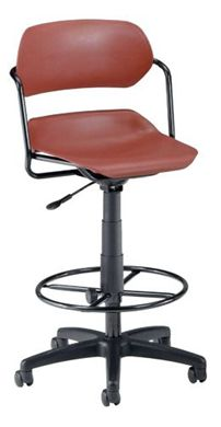 Picture of Martisa Series Plastic Task Stool with Drafting Kit