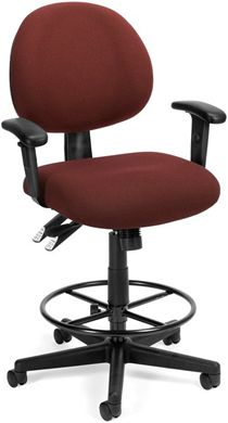 Picture of 24-Hour Task Chair with Arms and Drafting Kit