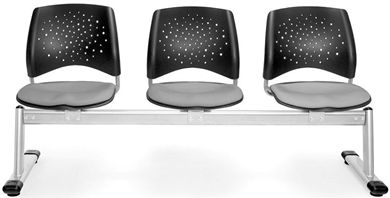 Picture of Elements Stars 3-Unit Beam Seating with 3 Seats