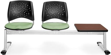 Picture of Elements Stars 3-Unit Beam Seating with 2 Seats & 1 Table