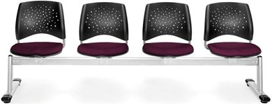 Picture of lements Stars 4-Unit Beam Seating with 4 Seats