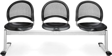 Picture of Moon 3-Unit Beam Seating with 3 Seats