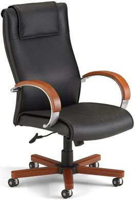 Picture of Apex Series Leather Executive High-Back Chair
