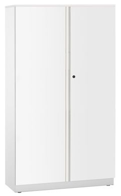 """Picture of Trace Metal 36"""" Double Door Cabinet with Coat Rod, No Shelves"""