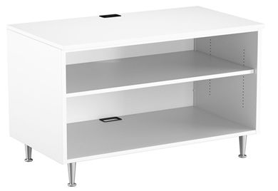 "Picture of Cayenne 2 Shelf Metal 36""W Open Low Storage Cabinet"