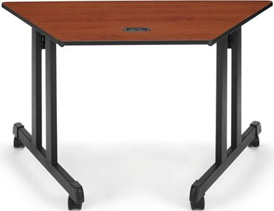 """Picture of Trapezoid Table 48"""" x 24"""""""