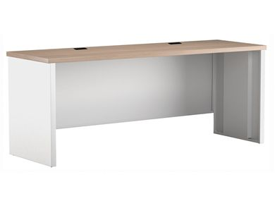 "Picture of 24"" x 30"" Metal Desk Shell with Partial Modesty"