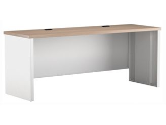 "Picture of 24"" x 36"" Metal Desk Shell with Partial Modesty"