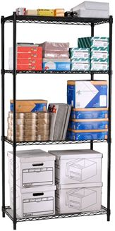 "Picture of Complete 4-Shelf Unit 72"" x 48"" x 18"""