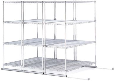 "Picture of X5 Lite - 3 4-Shelf Units, 36"" x 18"", Tracks Included"