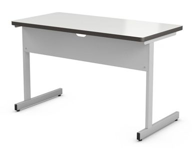 "Picture of Abco New Medley 20"" x 42"" Height Adjustable Training Table, ADA Compliant"