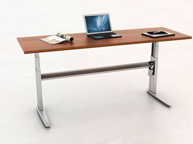 "Picture of 24"" x 72"" Height Adjustable Training Desk Table"