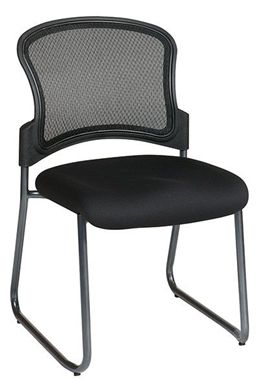 Picture of ProGrid® Back Visitors Chair with Titanium Finish