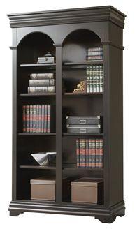 "Picture of 78""H Five Shelf Veneer Open Bookcase"