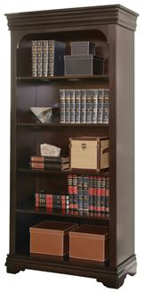 "Picture of 78""H Four Shelf Veneer Open Bookcase"