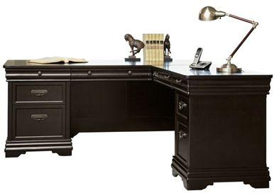 "Picture of 72"" L Shape Veneer Office Desk Workstation, Right Handed"