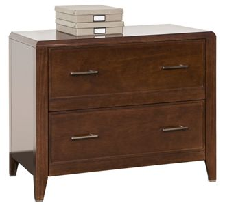"""Picture of 36""""W 2 Drawer Veneer Lateral File Cabinet"""