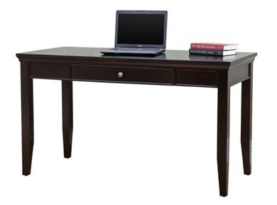 """Picture of Traditional Veneer 48"""" Writing Table Desk"""