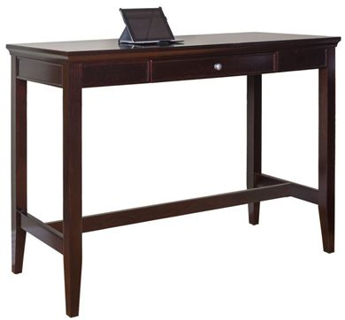"Picture of Traditional 60"" Standing Height Writing Desk Table"