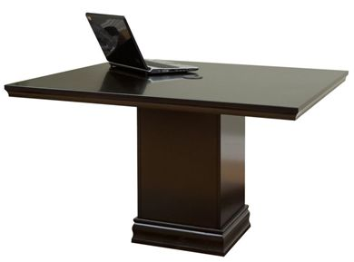 """Picture of Traditional 48"""" Square Conference Table"""