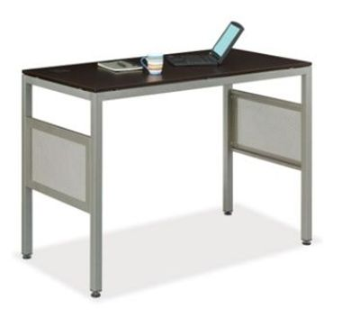 "Picture of Sleek Contemporary 60"" Steel Base Standing Height Desk Table"