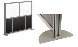 """Picture of 72""""W Freestanding Room Divider Privacy Panel"""