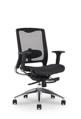 Picture of All Mesh High Back Office Task Chair with Adjustable Lumbar Support