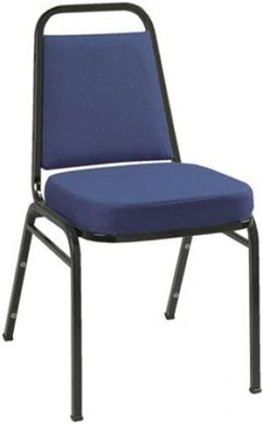 Picture of  Banquet Padded Armless Stack IM Metal Chair